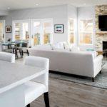 Decorting an open floor plan