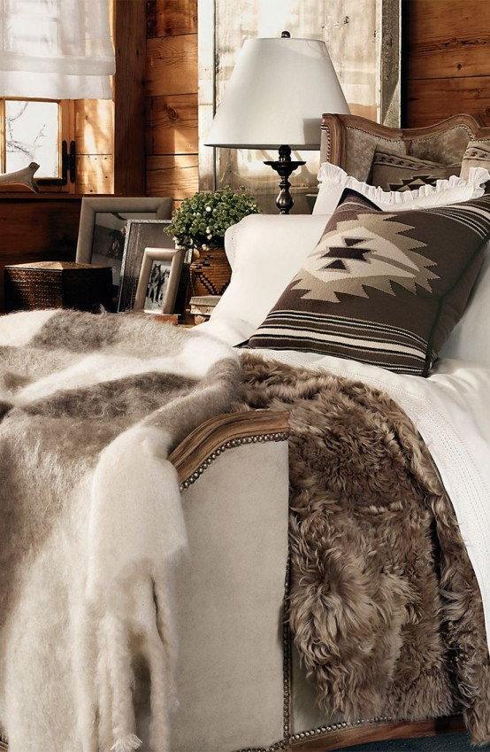 Mary Brown - One Day Design - Example of Cozy Winter Bedrooms Interior Design and Decorating