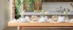 Mary Brown - One Day Design Example of modern rustic interior design and decorating